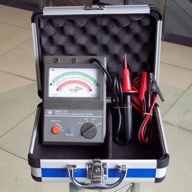 【供应moel2500型电池型高压绝缘电阻测试仪(兆欧表