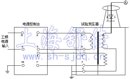 400kva升压器实物接线图